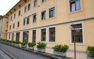 Motorrad Hotel Milano in Boario Terme (BS) in Lombardei