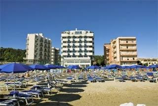 Motorrad Hotel Nautilus in Pesaro (PU) in Südliche Adriaküste