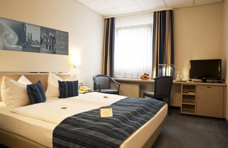 Hotel for Biker Hotel Novalis Dresden in Dresden-Neustadt in Dresden