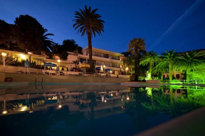 Nyala Suite Hotel in Sanremo / Ligurische Küste, Blumen- und Palmenriviera