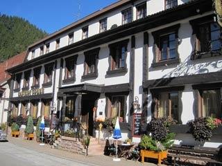 Motorrad Hotel ALBANS Sonne in Bad Rippoldsau-Schapbach in Schwarzwald