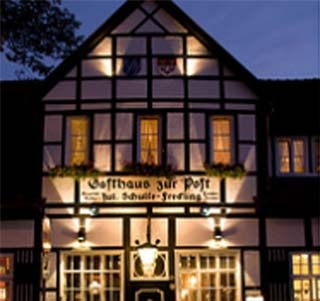Hotel Gasthaus zur Post Ladbergen am Flughafen Münster Osnabrück