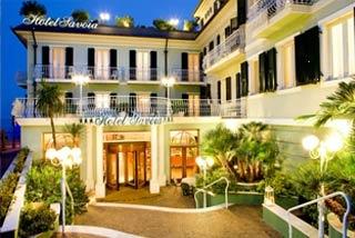 Hotel Savoia in Alassio (SV) / Ligurische Küste, Blumen- und Palmenriviera