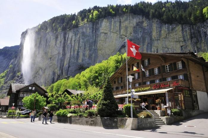 Hotel Restaurant Schützen in Lauterbrunnen / Berner Oberland