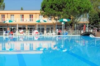 Motorrad Club Village & Hotel Spiaggia Romea in Lido di Volano (FE) in Nördliche Adriaküste