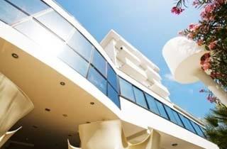 Motorrad Hotel Tiffany & Resort in Valverde di Cesenatico (FC) in Nördliche Adriaküste
