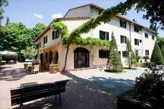 Hotel Villa I Barronci am Flughafen Florenz