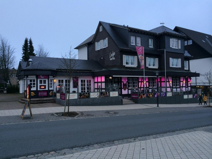 Hotel for Biker Alm-Lodge Winterberg in Winterberg in Sauerland