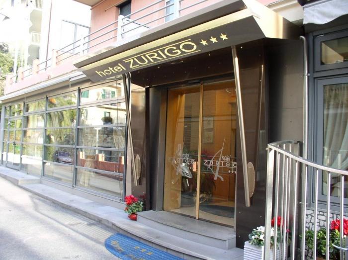 Hotel Zurigo in Varazze (Sv) / Ligurische Küste, Blumen- und Palmenriviera