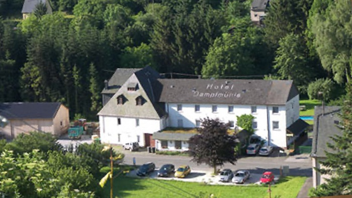 Hotel Moselromantik-Hotel Dampfm�hle am Flughafen Frankfurt Hahn