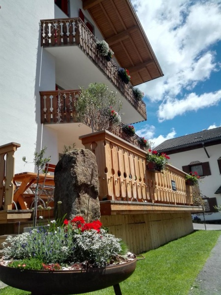 Motorrad Hotel Pension Sonnalp in Ortisei in Dolomiten