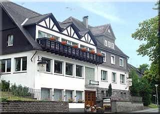 Fahrradfahrerfreundliches Hotel  Schnorbus in Hallenberg-Liesen