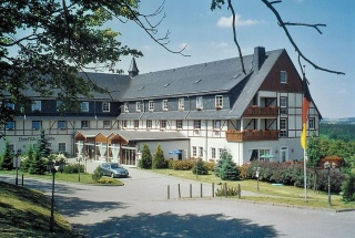 Hotel for Biker Hotel Wettiner Höhe in Kurort Seiffen in Erzgebirge