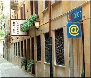 Motorrad Hotel Caprera in Venezia in Venedig