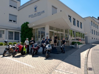 Hotel for Biker Hotel Am Triller in Saarbrücken in Saarbrücken