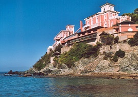 Motorrad Hotel Baia del Sorriso in Castiglioncello in Etruskische Küste