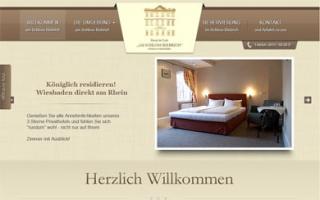 Fahrradfahrerfreundliches Hotel & Cafe Am Schloss Biebrich in Wiesbaden