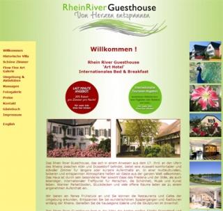 Fahrradfahrerfreundliches Rhein River Guesthouse in Hitdorf