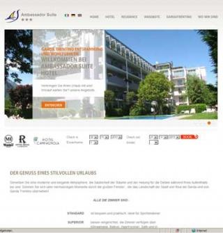 Fahrradfahrerfreundliches Ambassador Suite Hotel in Riva del Garda