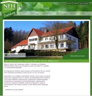 Fahrradfahrerfreundliches Naturfreundehaus Teutoburg in Bielefeld