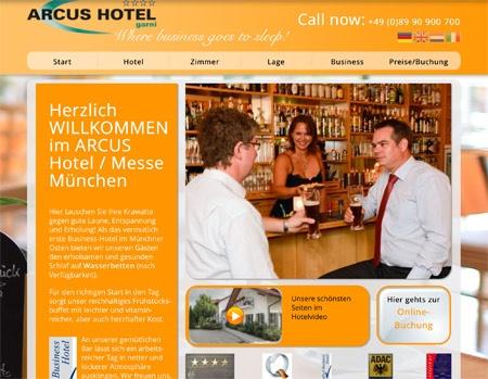 Fahrradfahrerfreundliches ARCUS Hotel in Weißenfeld