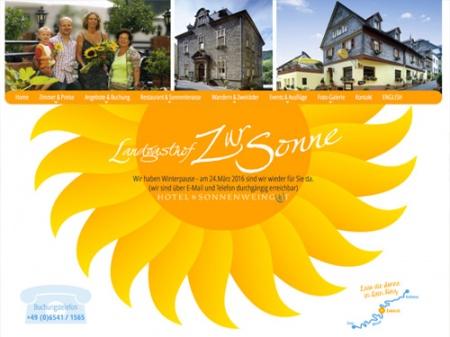 Fahrradfahrerfreundliches Landgasthof zur Sonne in Enkirch