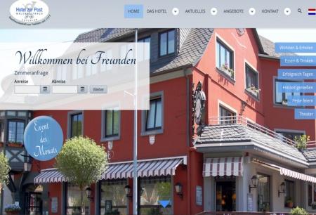 Fahrradfahrerfreundliches Hotel zur Post in Waldbreitbach
