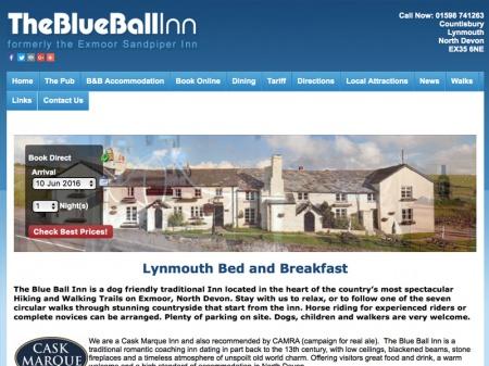 Fahrradfahrerfreundliches Blue Ball Inn in Lynton