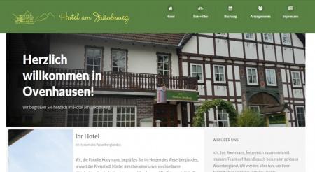 Fahrradfahrerfreundliches Hotel am Jakobsweg in Höxter