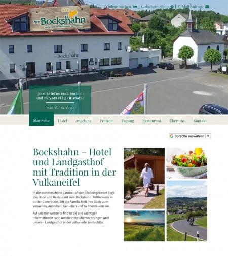 Fahrradfahrerfreundliches Hotel & Landgasthof zum Bockshahn in Spessart