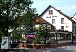 Motorrad Hotel Krone in Hirschberg in