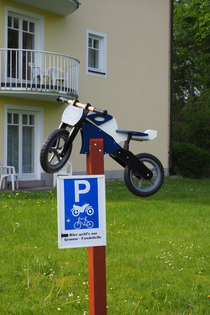 Stay at the Motorcycle hotel in Bad Neualbenreuth
