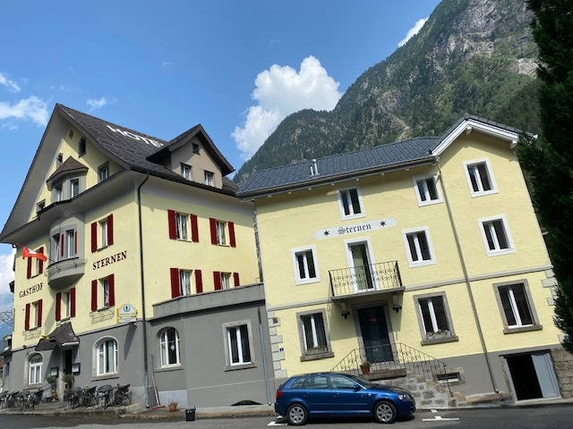 Übernachten in Gurtnellen in den Urner Alpen