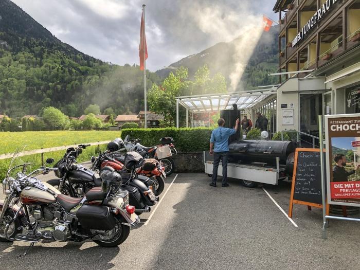 Übernachten in Wilderswil im Berner Oberland
