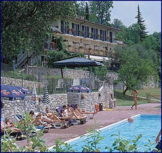 Motorrad Hotel Residence Elisa in Tignale in Gardasee
