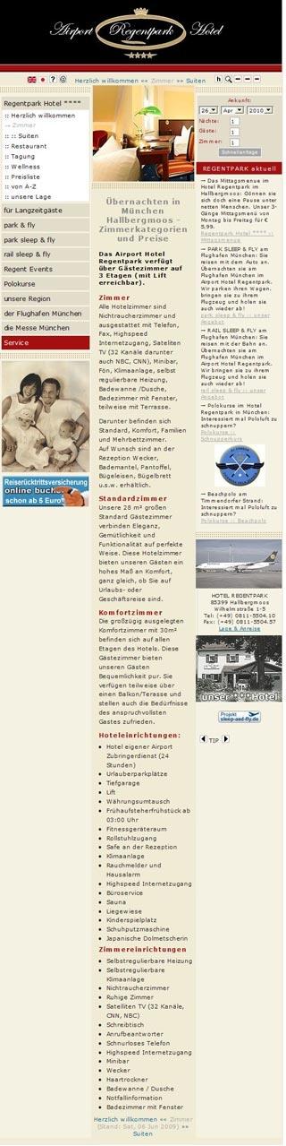 Fahrradfahrerfreundliches Airport Hotel Regentpark München in Hallbergmoos