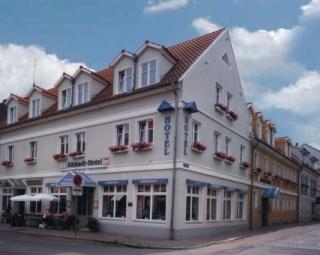 Motorrad Altstadt Hotel Stendal in Stendal in