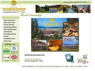 Fahrradfahrerfreundliches Hotel Sonnenhof in Cham
