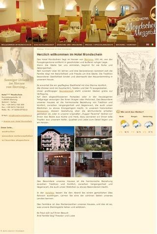 Fahrradfahrerfreundliches Hotel Mondschein in Sterzing