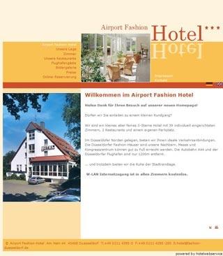 Fahrradfahrerfreundliches Airport Fashion Hotel in Düsseldorf