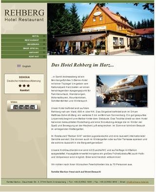 Fahrradfahrerfreundliches Hotel Rehberg in Sankt Andreasberg