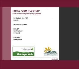 Fahrradfahrerfreundliches Hotel zum Kloster in Rohr