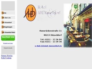 Fahrradfahrerfreundliches Hotel Alt Düsseldorf in Düsseldorf
