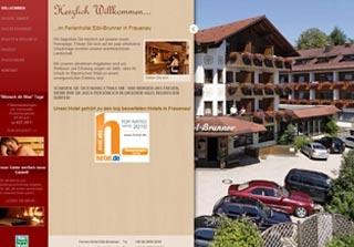 Fahrradfahrerfreundliches Ferienhotel Eibl-Brunner in Frauenau