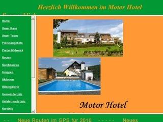 Fahrradfahrerfreundliches Motor Hotel Sonnenblick in Lütz