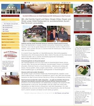 Fahrradfahrerfreundliches Hotel Alt Holzhausen in Bad Pyrmont