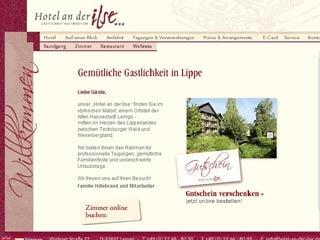 Fahrradfahrerfreundliches Hotel an der Ilse in Lemgo