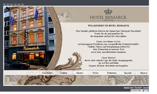 Fahrradfahrerfreundliches Hotel Bismarck in Düsseldorf