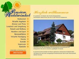 Fahrradfahrerfreundliches Pension Waldwinkel in Lenzkirch