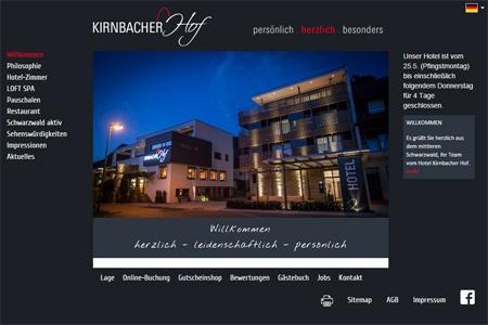 Fahrradfahrerfreundliches Kirnbacher Hof in Wolfach